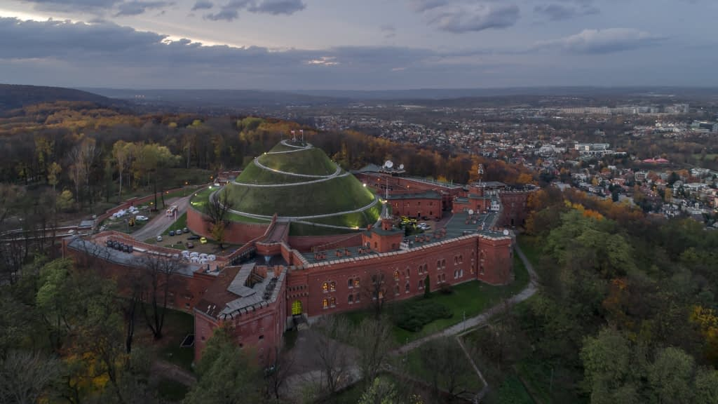 Kopiec-Kosciuszki-z-drona-Krakow