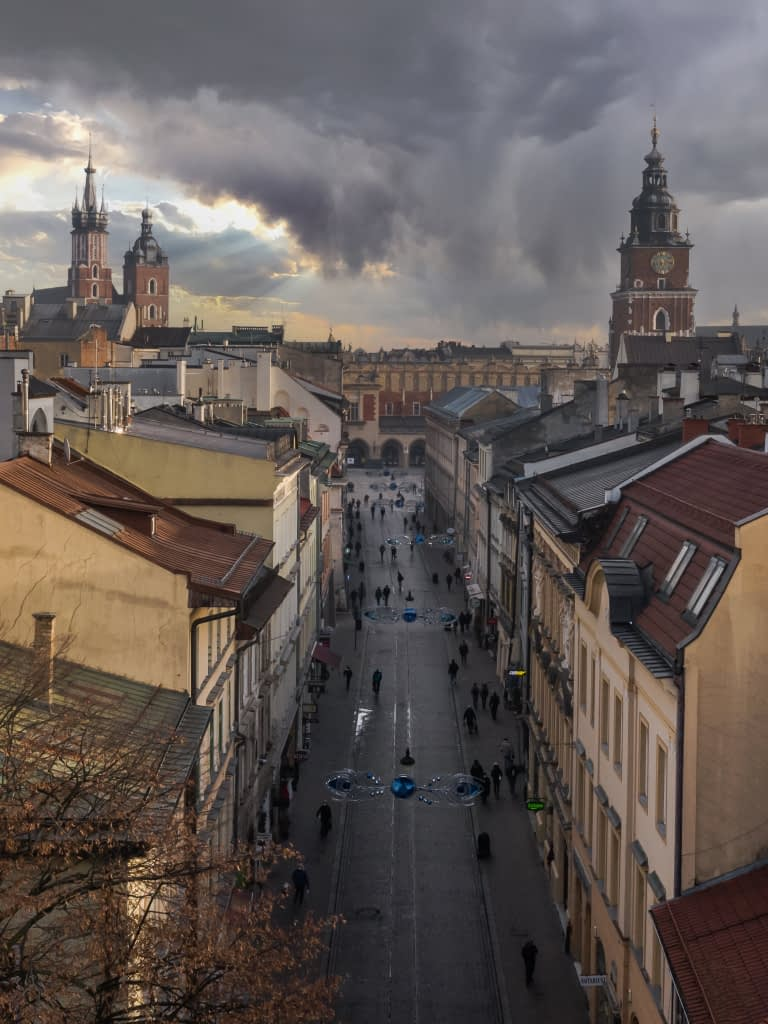 fotografia-z-drona-krakow-Szewska