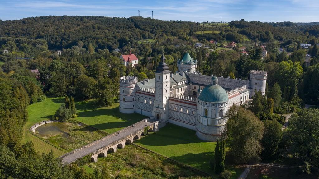 fotografia-z-drona-zamek-Przemysl
