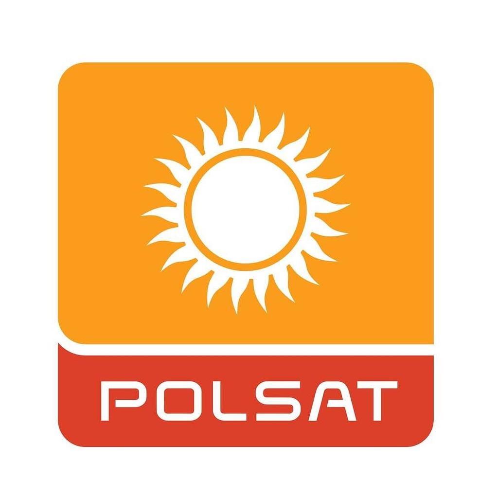 Filmowanie z drona Polsat logo Warszawa