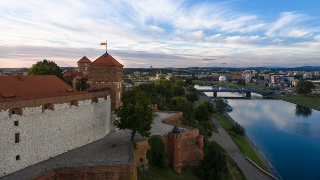 Krakow-z-powietrza-filmowanie-dron