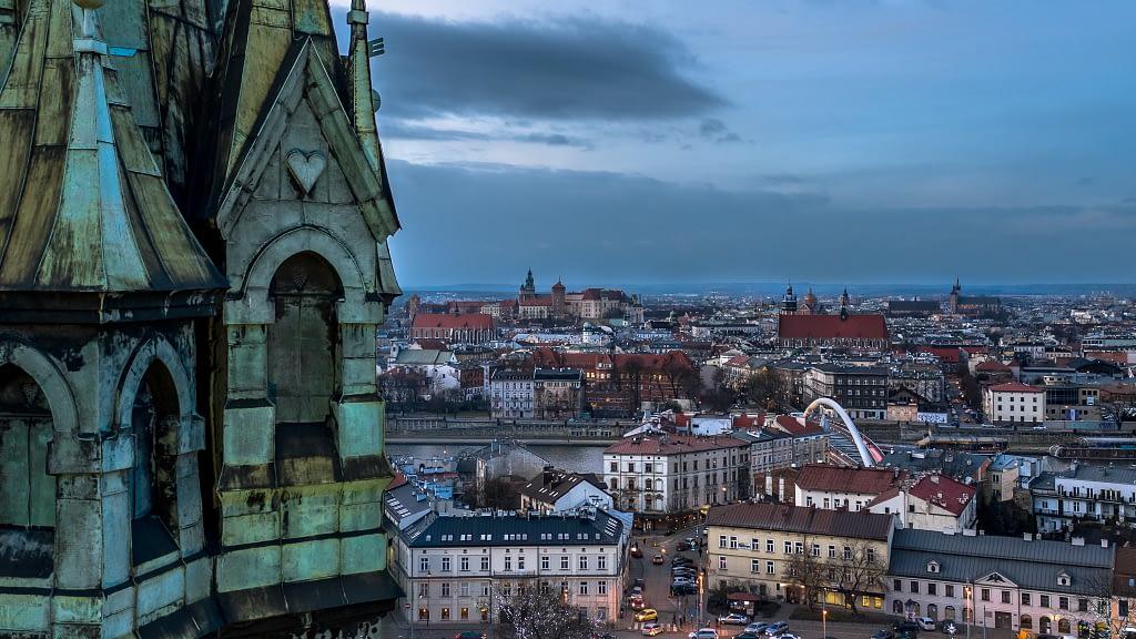 fotografia-z-powietrza-Podgorze-Rynek